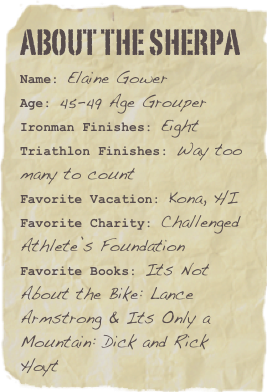 Elaine Gower race resume